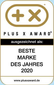 Auszeichnung Plus-X-Award 2020